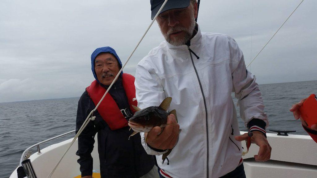 Kanadier mit ihren ersten Ostseedosrschen