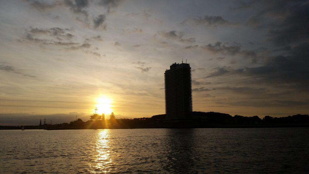Sonnenuntergang Travemünde