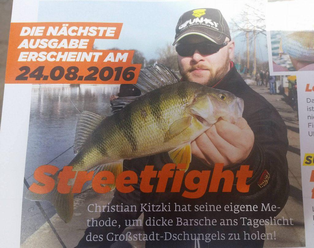 Zeitungsartikel Streetfishing